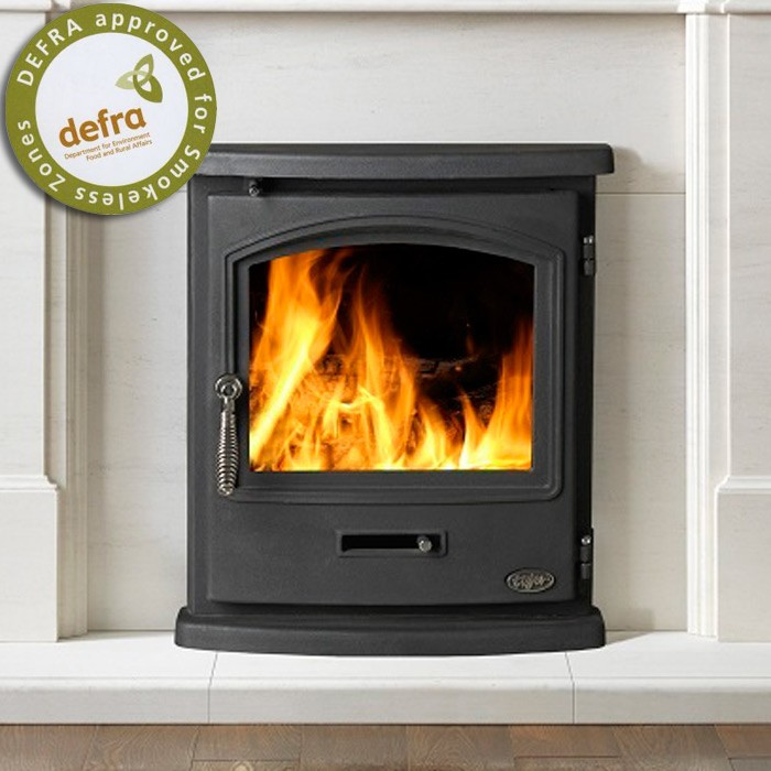 4.9kw Tiger Inset Cleanburn Multi Fuel Stove