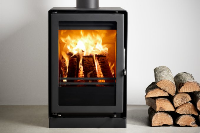4.3kw Uniq 35 Convection SE Multi Fuel Stove