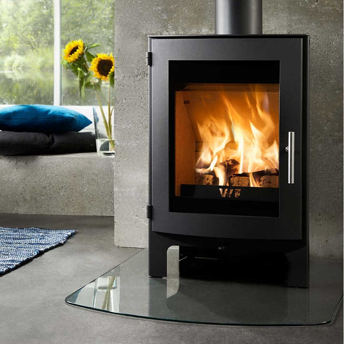 5KW Uniq 17 Woodburning Stove