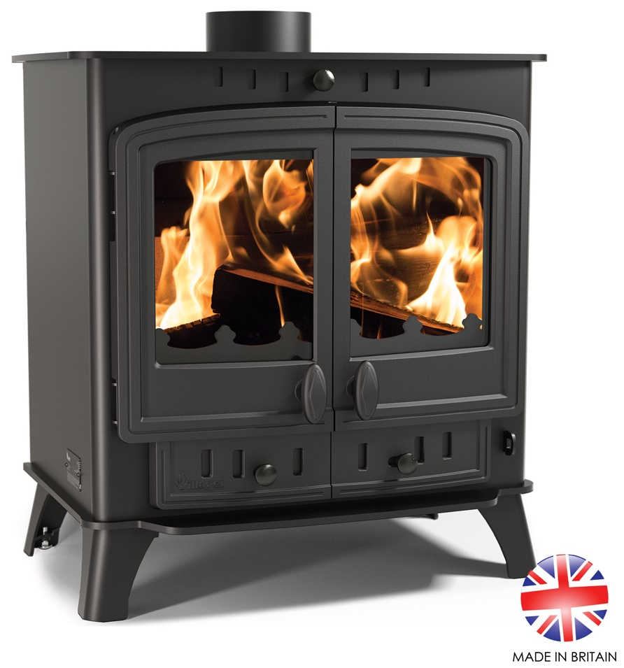 11.7KW Villager Duo 12 Multi Fuel Stove
