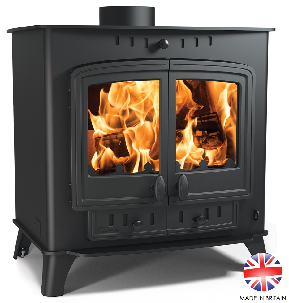 14.4KW Villager Duo 14 Multi Fuel Stove