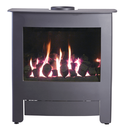 4.8KW Verona 6 Black Conventional Gas Stove