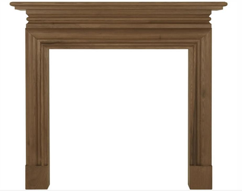 Wessex Wide Oak Fireplace Surround