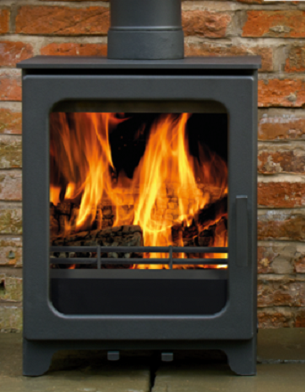 4.3kW Woodpecker WP4 SE Woodburning Stove